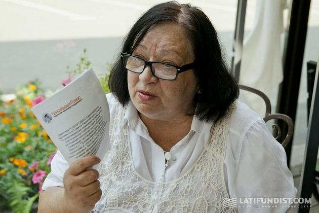 Президент Всеукраинской общественной организации «Фумигационная ассоциация» Тамара Подберезняк