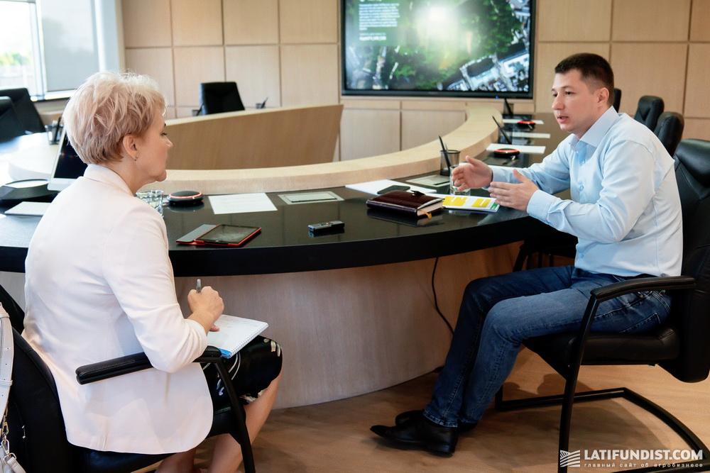 Интервью с Александром Семенцом