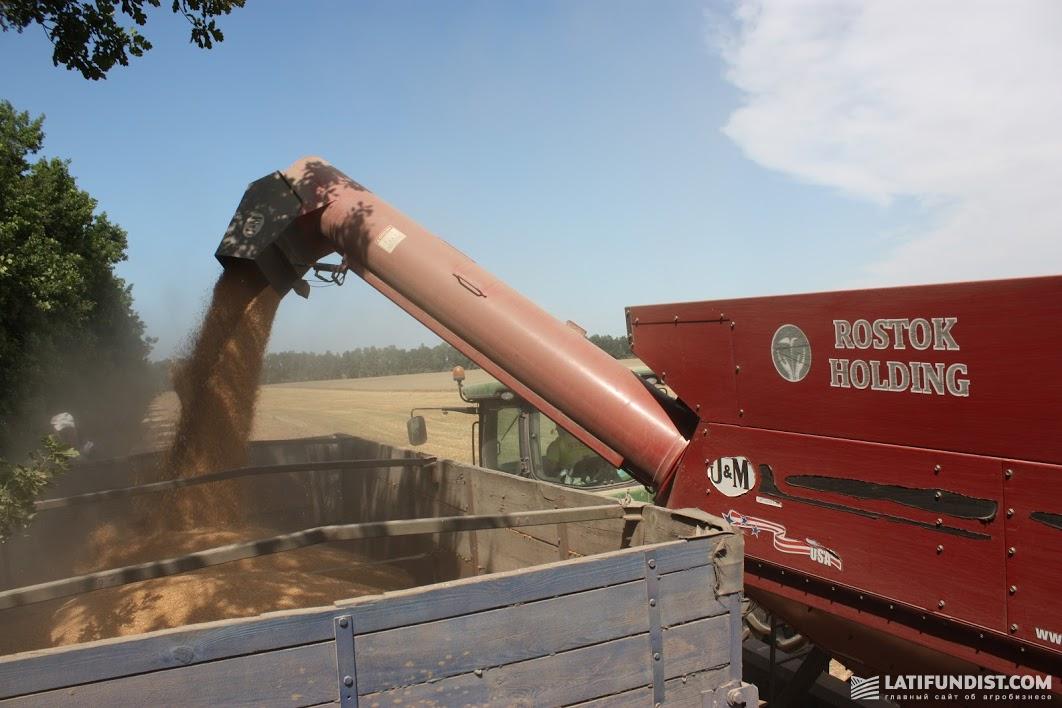Уборка урожая в компании «РОСТОК-ХОЛДИНГ»