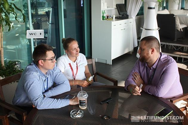 Корреспонденты Latifundist.com разговаривают с Андреем Ставницером