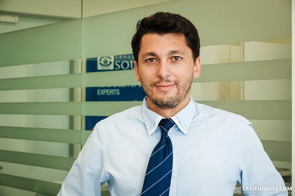 Самюэль Робар, экс-генеральный директор «Суффле Агро Украина»