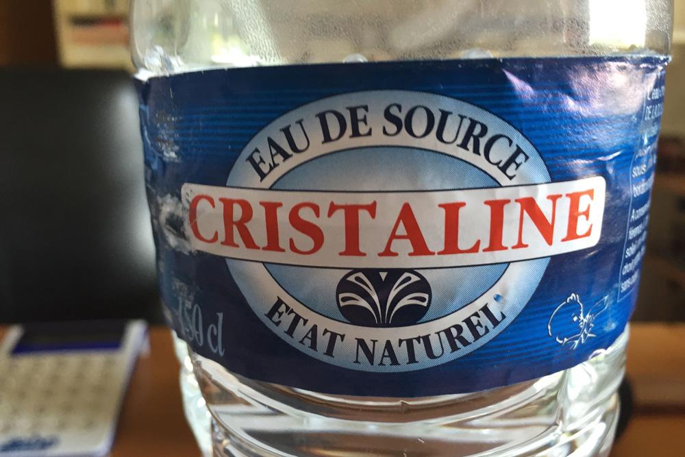 Минеральная вода Cristaline