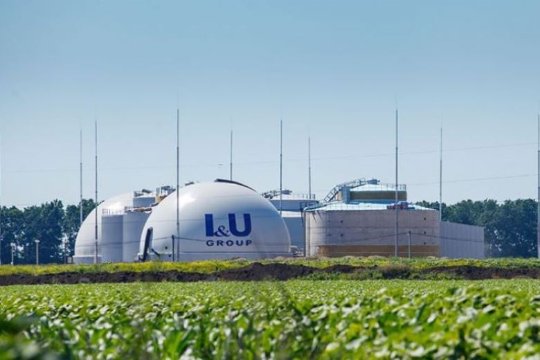 Новый биогазовый завод I&U Group