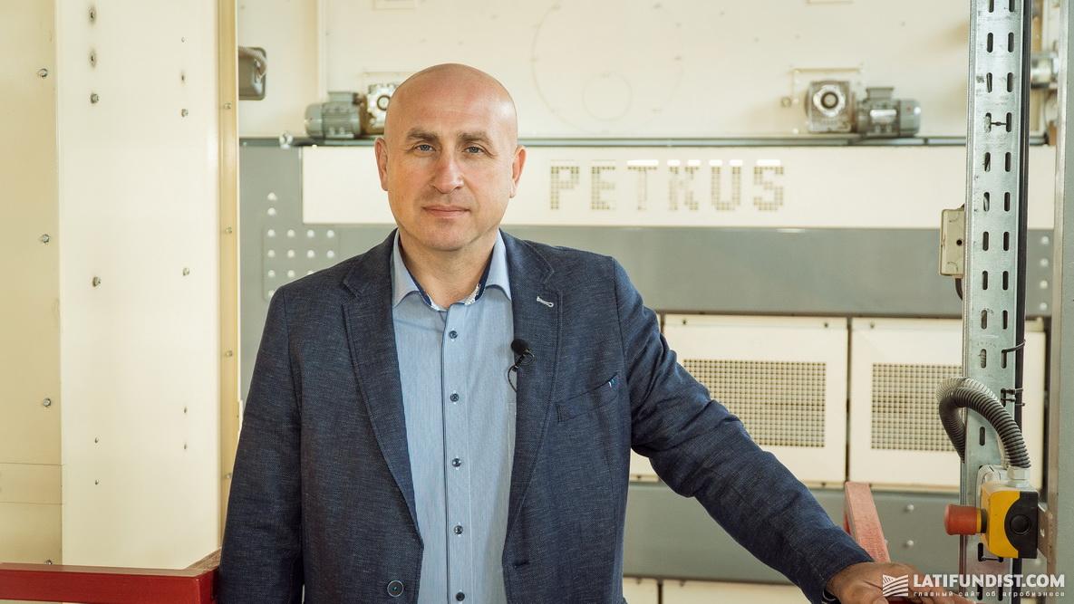Анатолий Ткаченко, директор «Лебединского семенного завода»