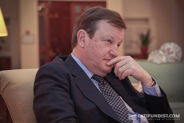 Джеймс Таунзенд, специальный представитель Великобритании по вопросам агробизнеса, гендиректор Velcourt