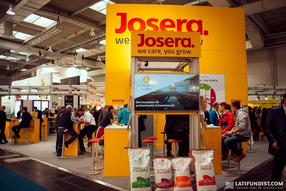 Выставочный стенд компании Josera