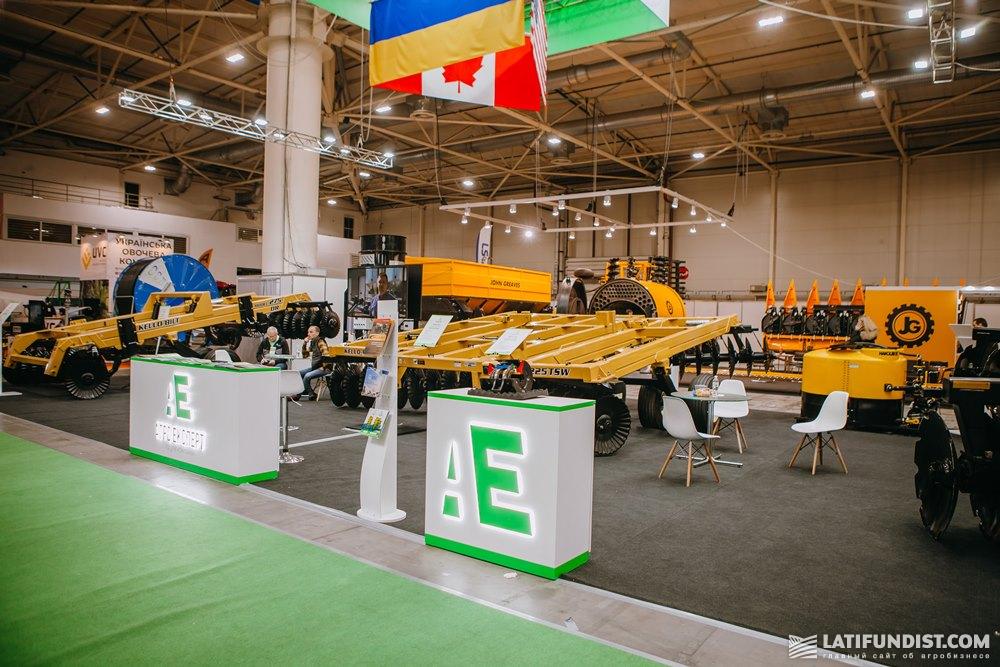 Стенд компании «Агро Эксперт» на выставке АгроВесна 2020