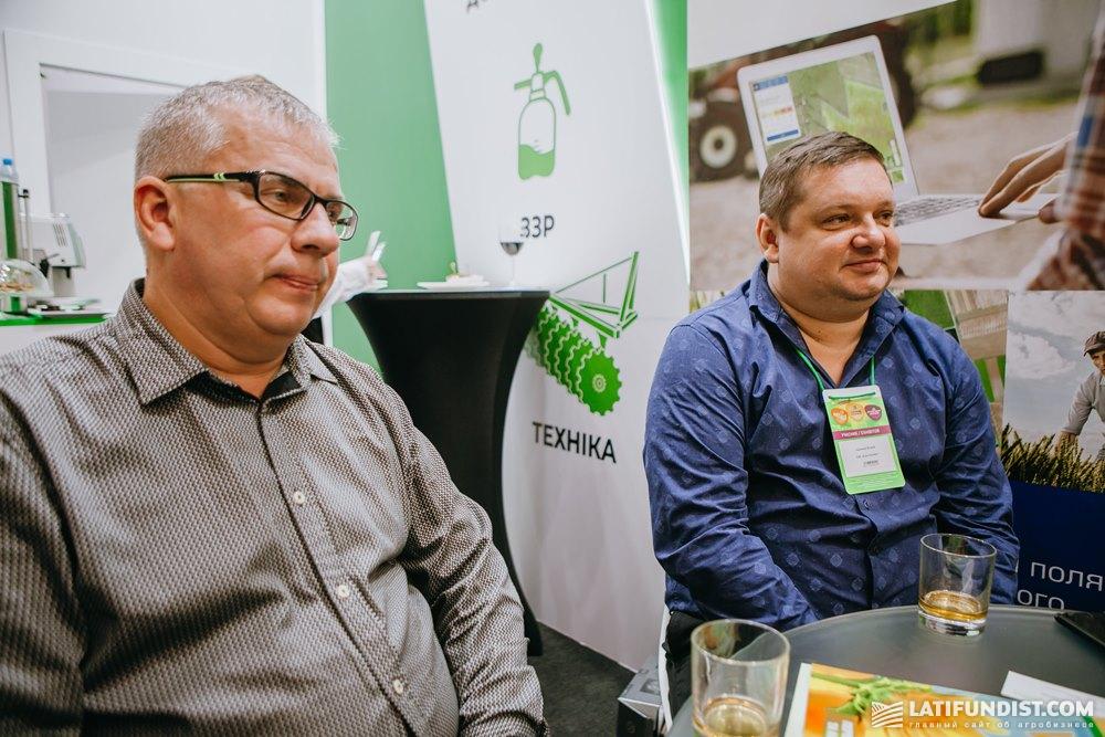 Леонид Яременко и Виталий Нарижный