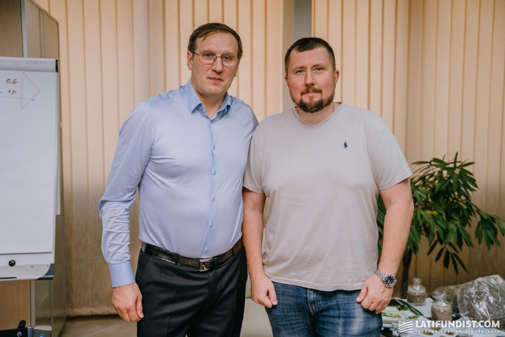 Александр Фоменко и Антон Коробко