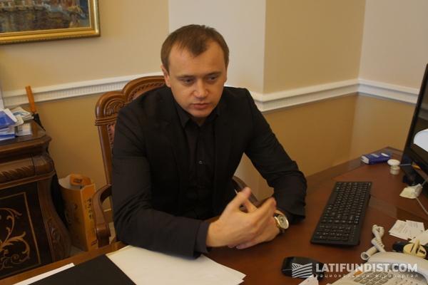 Алекс Лисситса, президент «Украинского клуба аграрного бизнеса»