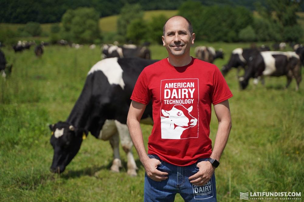 Ион Морару, сооснователь и руководитель проектов American Dairy Technology (ADT)