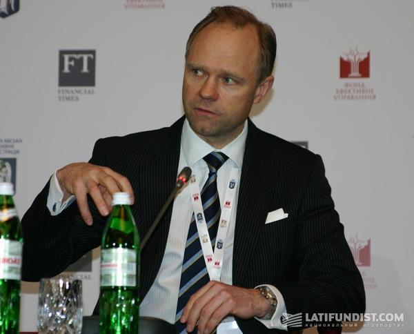 Андре Куусвек, директор Европейского банка реконструкции и развития (ЕБРР) в Украине