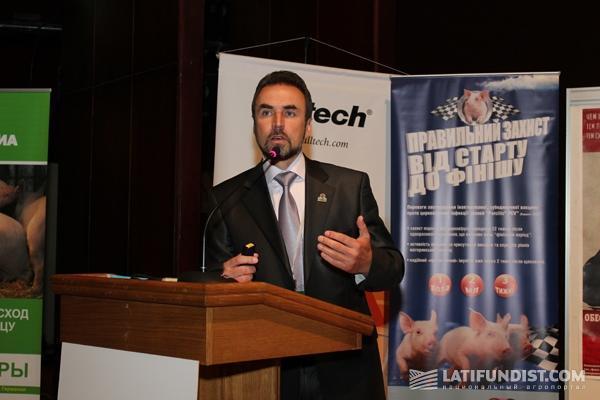 Артур Лоза, глава Ассоциации свиноводов Украины