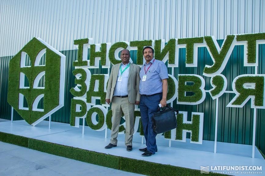 Беланех Кинди на открытии Института здоровья растений компании UKRAVIT