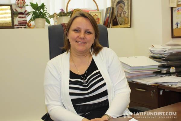 Елена Фомина, руководитель поставки семян в Украине и России «Монсанто Украина»