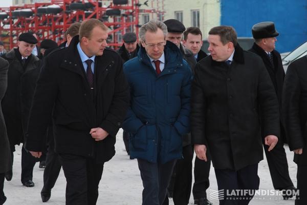 Визит в «Дружбу-Нову» министра аграрной политики и продовольствия Украины Николая Присяжнюка