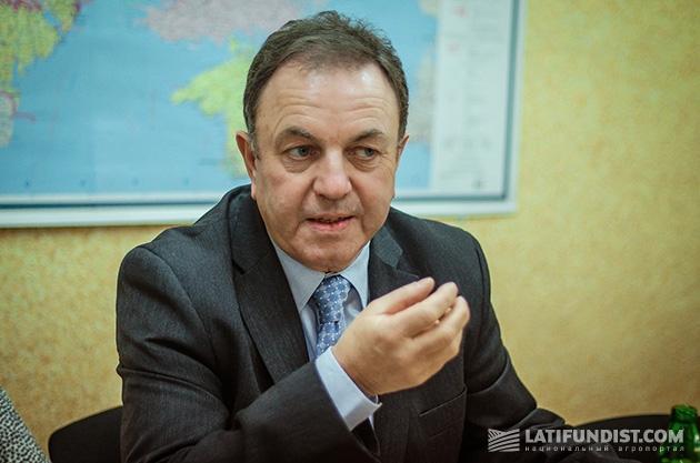 Ханс Экер, председатель совета директоров SAATBAU LINZ