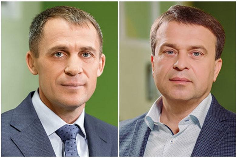 Слева направо: Борис Беликов, генеральный директор, член совета директоров «Овостар Юнион» и Виталий Вересенко, член совета директоров «Овостар Юнион»