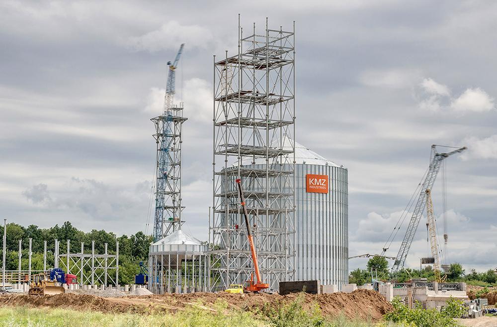 Строительство элеватора в Черкасской области
