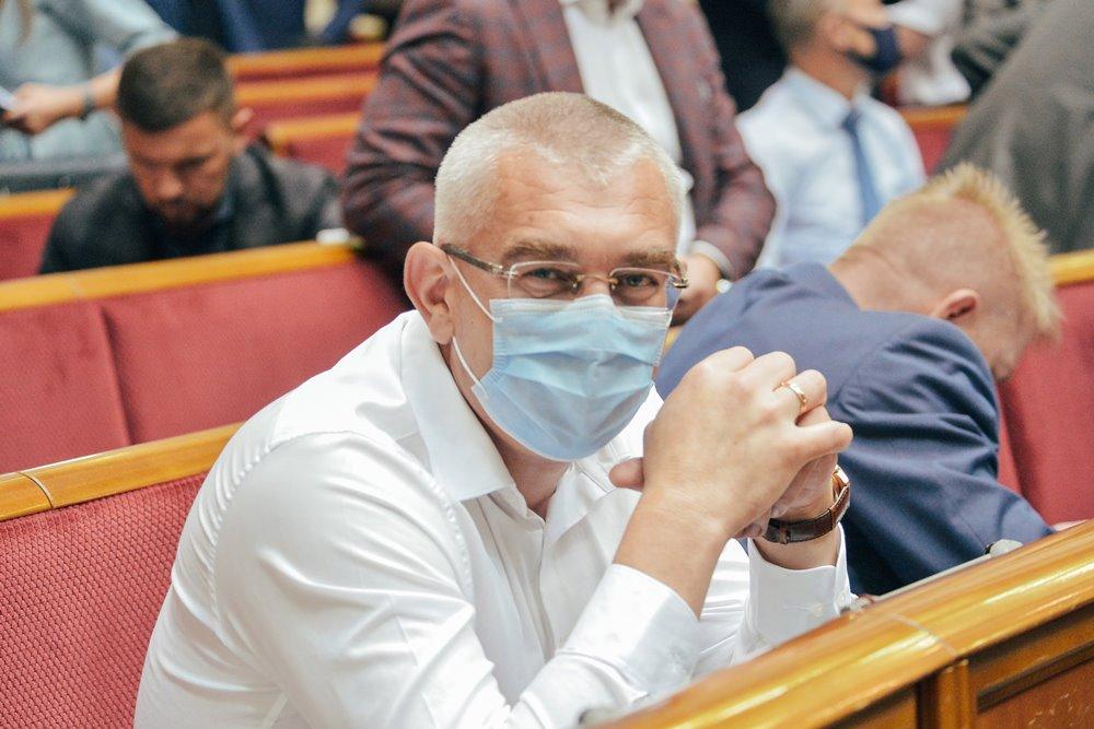 Иван Чайковский в Верховной Раде Украины
