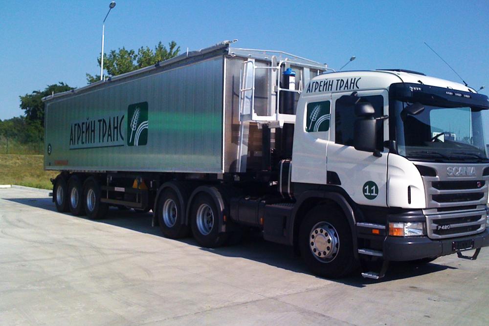 Грузовик Scania Р 420 предприятия «Агрейн Транс»