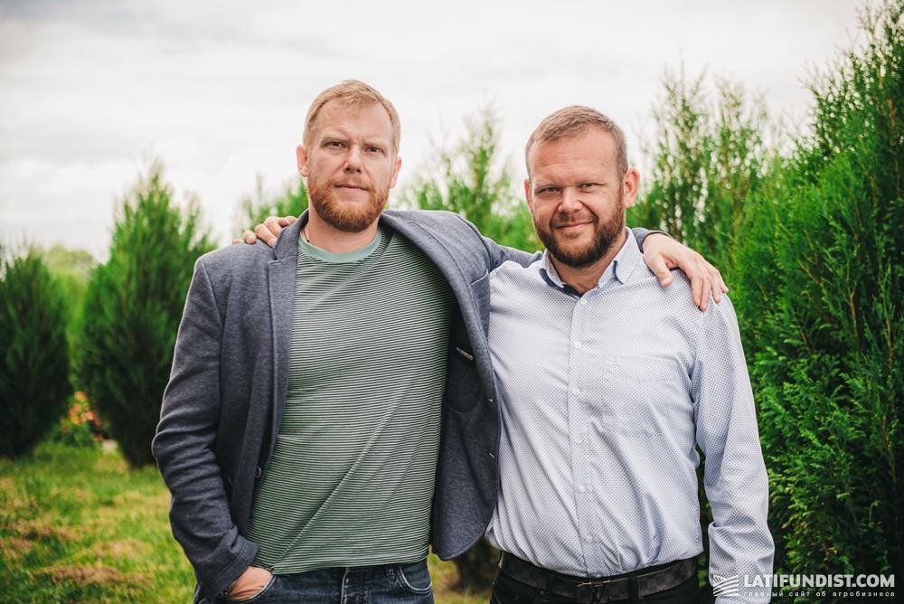 Максим и Дмитрий Сидоренко