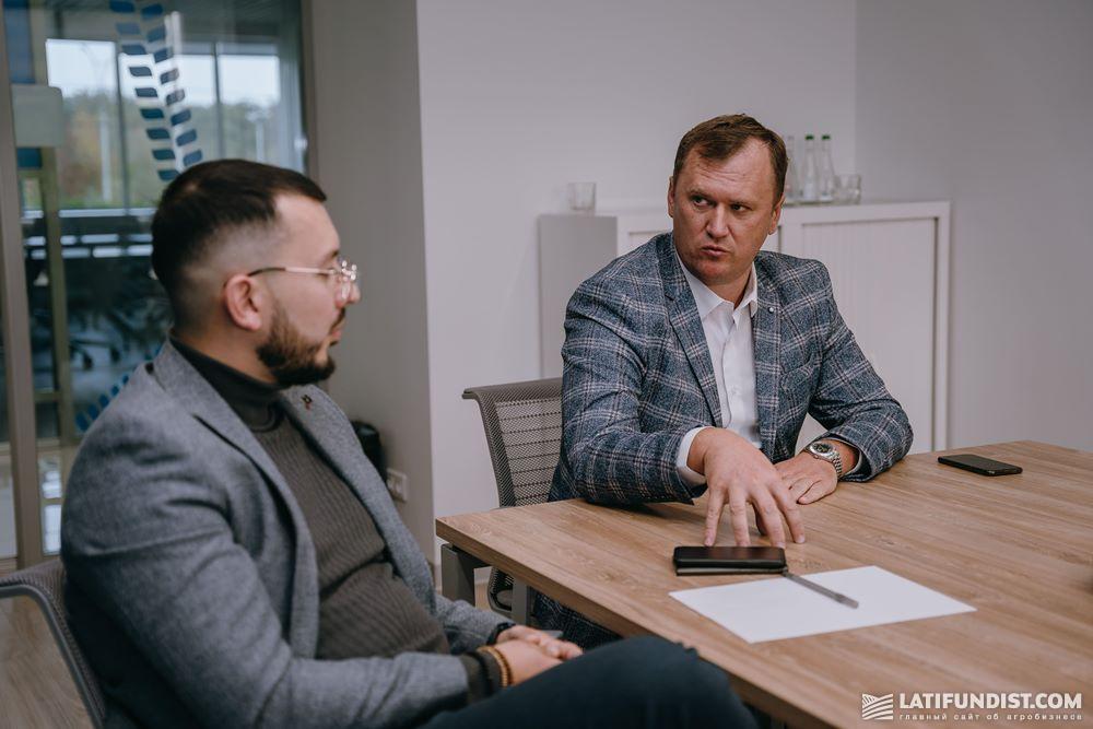 Максим Гузев и Виталий Адамчук