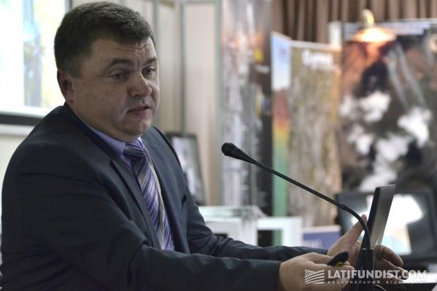 Олег Москаленко на международном семинаре «Космические технологии в агробизнесе»