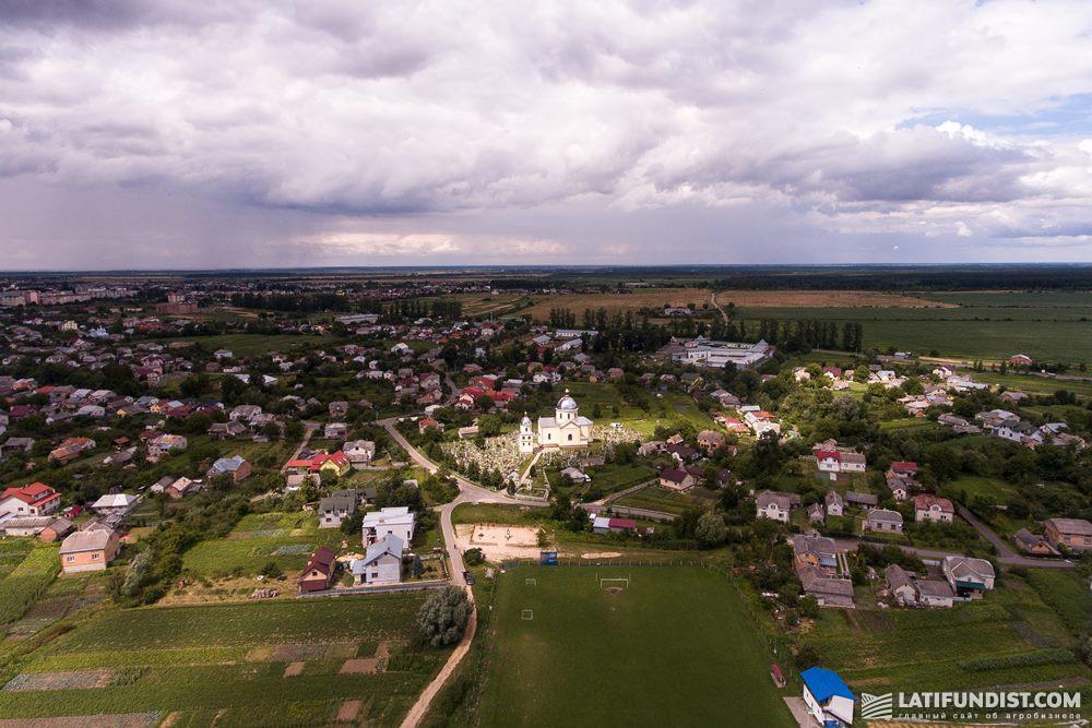 Село Сопошин во Львовской области развивается при участии МХП