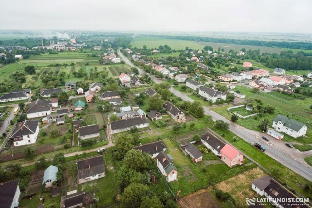 МХП принимает участие в жизни села Угерсько Львовской области