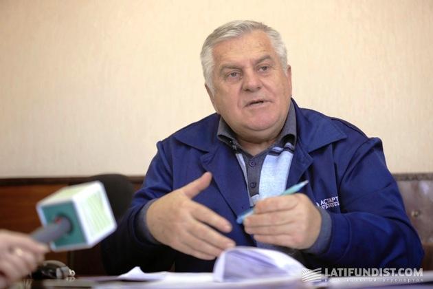 Владимир Омельченко, директор Ждановского сахарного завода