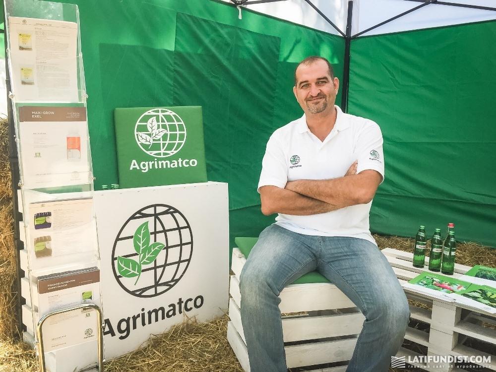 Орва Алабед, Global seed manager Agrimatco