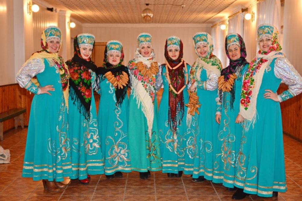 Народный вокальный коллектив «Сударушка» села Новая Некрасовка