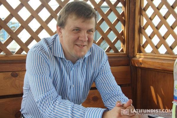 Сергей Парубочий, руководитель ФХ «Парубоче»