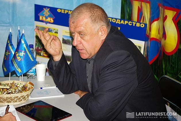 Петр Гадз, председатель наблюдательного совета «Бучачагрохлебпром»