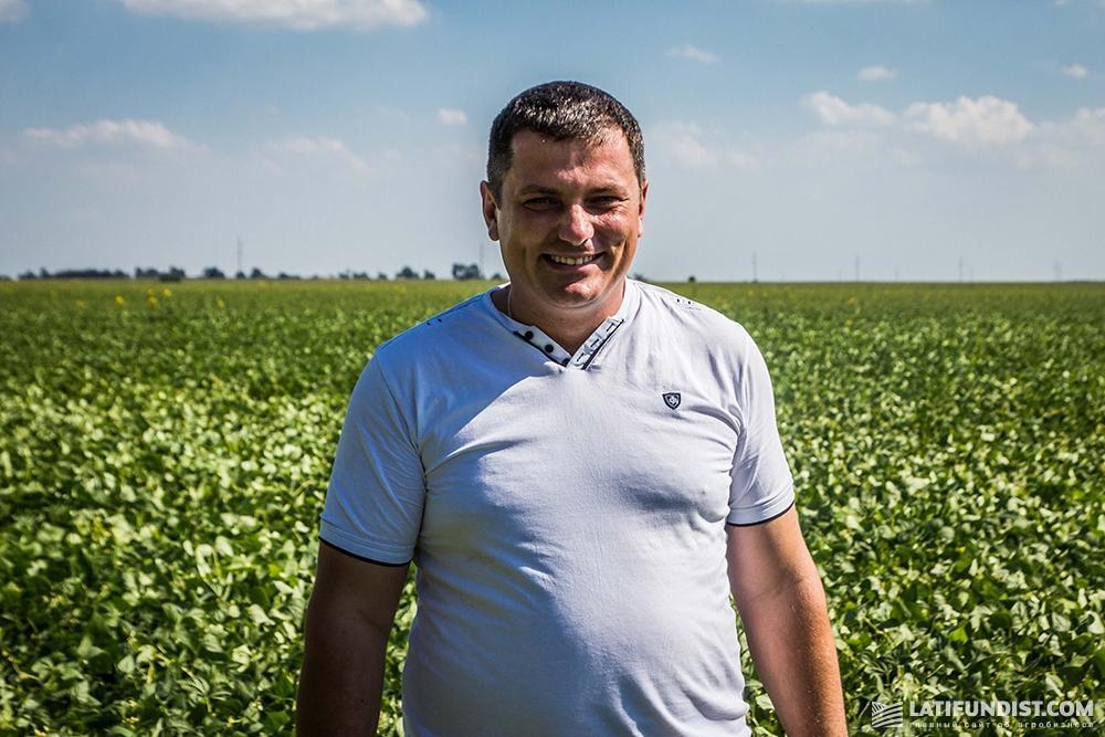 Владимир Прокопчук в поле