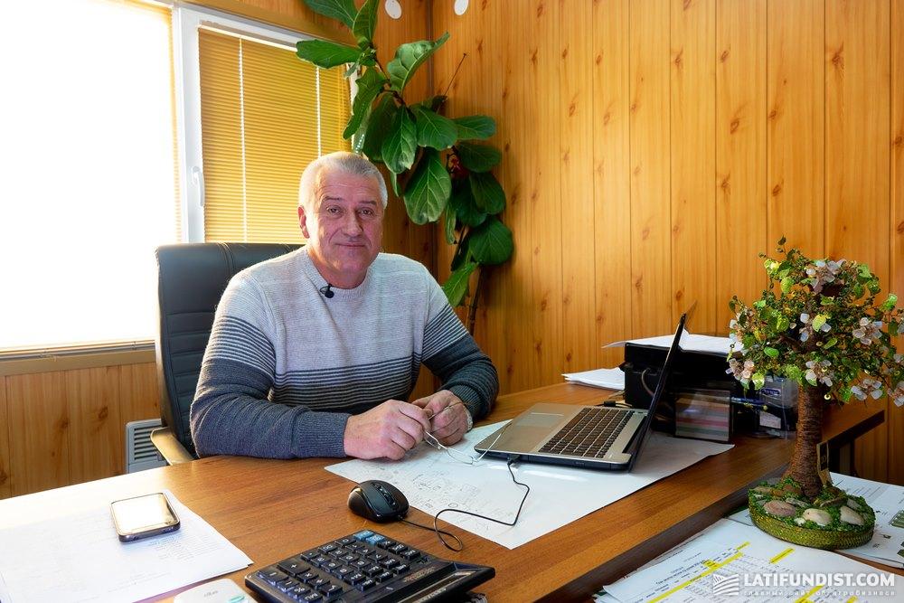 Петр Харусь, директор семенного завода «Лотовка Элит» компании «Сварог Вест Груп»