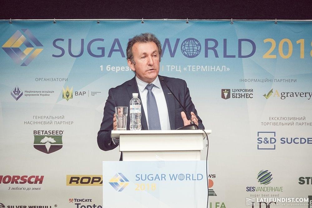 Выступление Роба ван Тетеринга на конгрессе Sugar World 2018