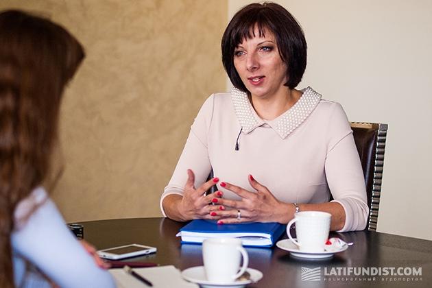 Директор по персоналу UkrLandFarming Наталья Романенко