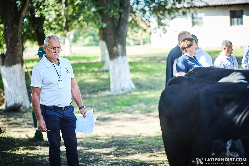 Вячеслав Саулко на Презентации селекционных достижений службы животноводства Кернел