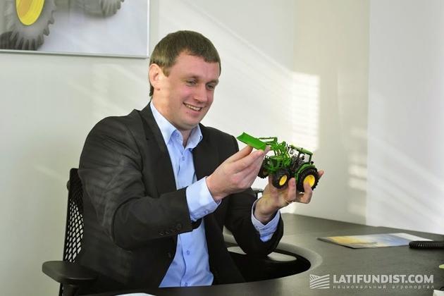 Сергей Гопкало, руководитель по развитию сервиса в Украине «John Deere Украина»