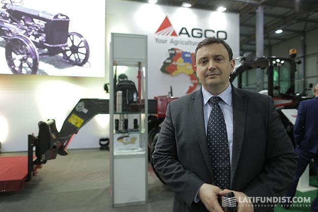 Роман Шаповал, региональный директор AGCO в Украине и Восточной Европе