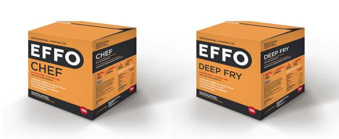 Профессиональное кулинарное масло EFFO