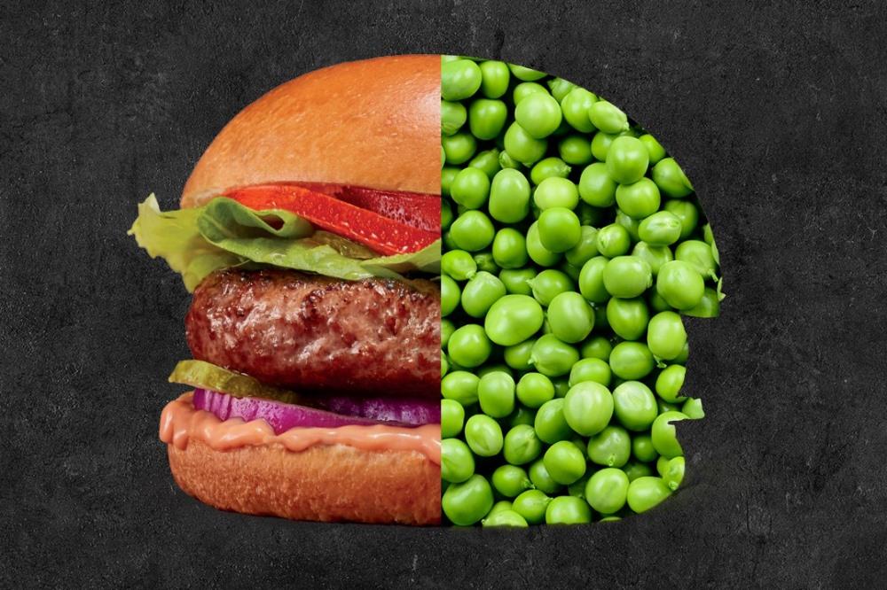 Основной ингредиент продукции Beyond Meat — это горох