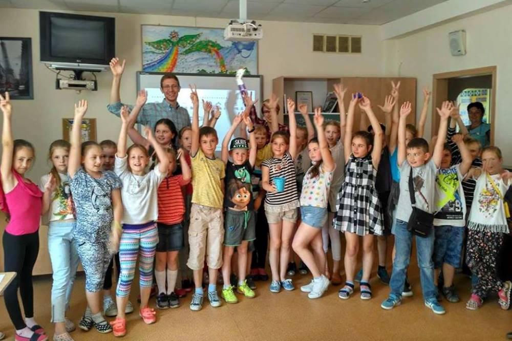 Пробное занятие для учеников 5-6 классов УВК №20 г. Киева на тему профессий аграрной сферы