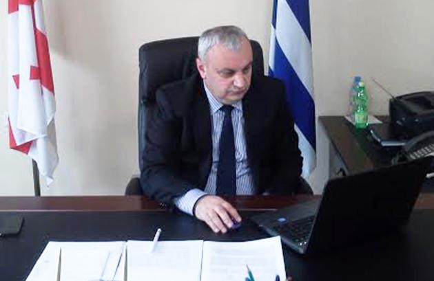 министр сельского хозяйства Аджарии Заур Путкарадзе
