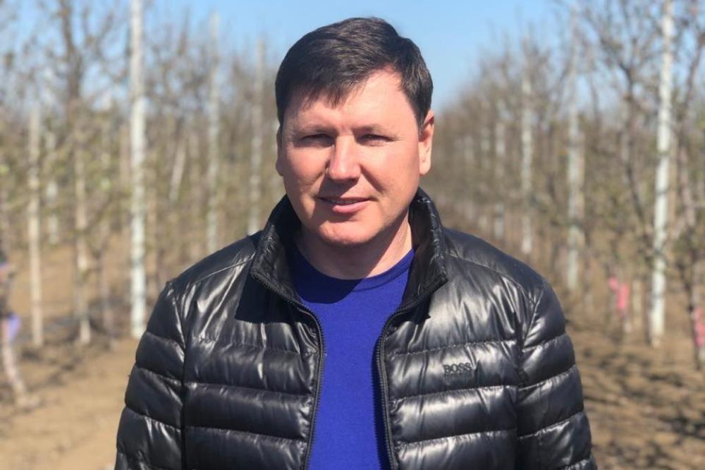 Виктор Кожухаренко, директор хозяйства «Виктория»