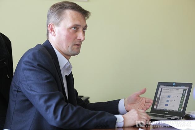 Юрий Мороз, генеральный директор агрокомплекса «Зеленая долина» Юрий Мороз