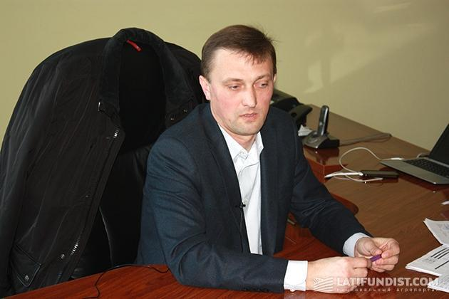 Юрий Мороз, генеральный директор агрокомплекса «Зеленая долина»