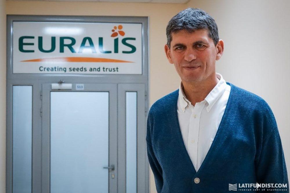 Жан-Марк Кантегри, операционный директор «Евралис Семенс Украина»